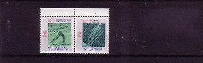 Briefmarken übersee:9961 DemüTigen Kanada Michelnummer 1066-1067 Postfrisch