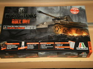 KIT MAQUETA PZ. KPFW. V PANTHER WORLD OF TANKS 1:35 ITALERI