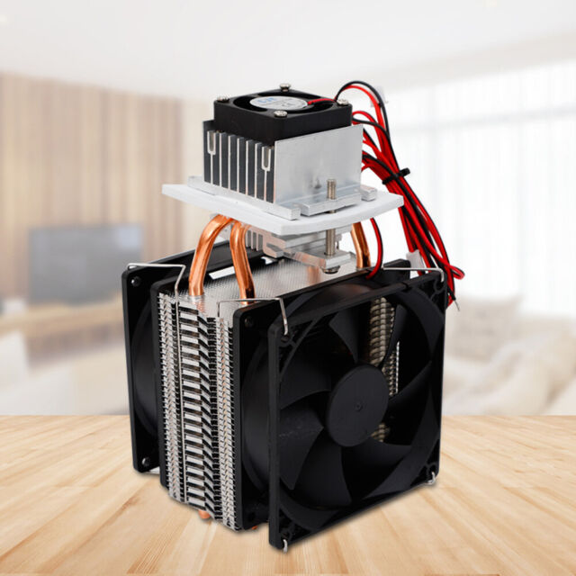 240W Peltier Cooler DIY Semiconductor Thermoelectric Refrigeration Water Cooling Device