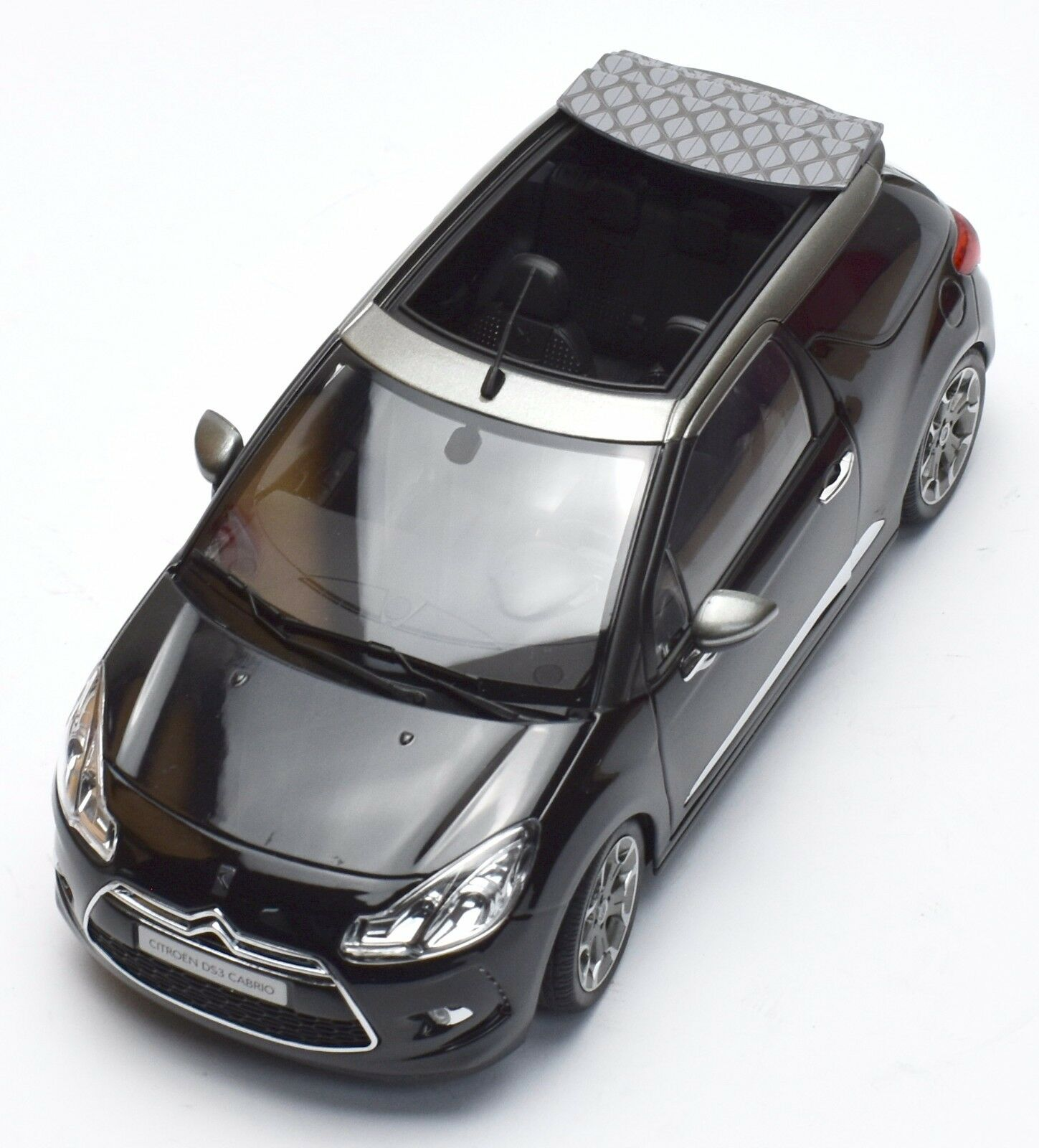 NOREV 181545 CITROEN ds3 decappottabile in nero laccato, 1 18, OVP, k024