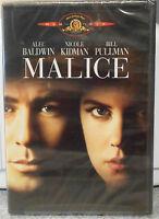 Malice (dvd 2000) Very Rare Nicole Kidman 1993 Crime Thriller Brand Mgm