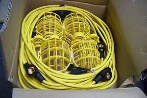 new Bergen - GL100-123-MPC - Contractor Grade U.L. Listed 100ft Temporary Light