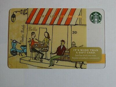 New /& Never Swiped 2014 Holiday Issue Starbucks Card Thanks