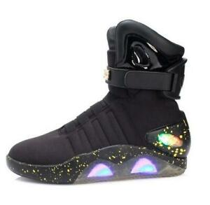 LED-LIGHT-SHOES-KEY-CHAINBACK-TO-THE-FUTURE-WARRIOR-Sneaker-BASKETBALL-Casual