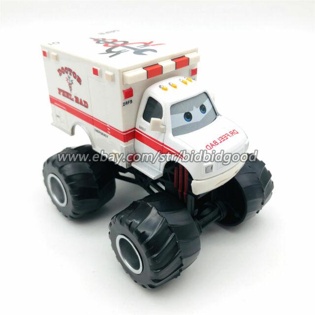 Mattel Disney Pixar Cars Dr.Feel Bad Ambulance Monster Truck Diecast Model Loose