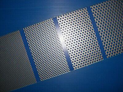 200 x 200 x 1,5 mm 1.4301 BUCHERT  Edelstahl VA Lochblech /> Rv 5-8