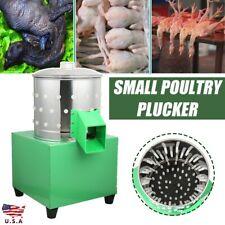 Chicken Dove Feather Plucking Machine Poultry Plucker Birds Depilator 80w Us