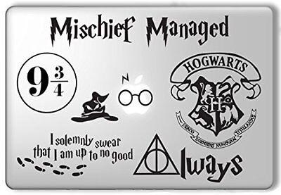 Harry Potter Deathly Hallows Always Macbook Laptop Wall Vinyl Decal Sticker 165