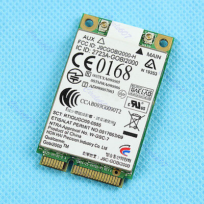 HOT! UN2420 GOBI2000 WWAN 3G Card For HP 2540P 2740P 8440P 8440W 8540P 8740P