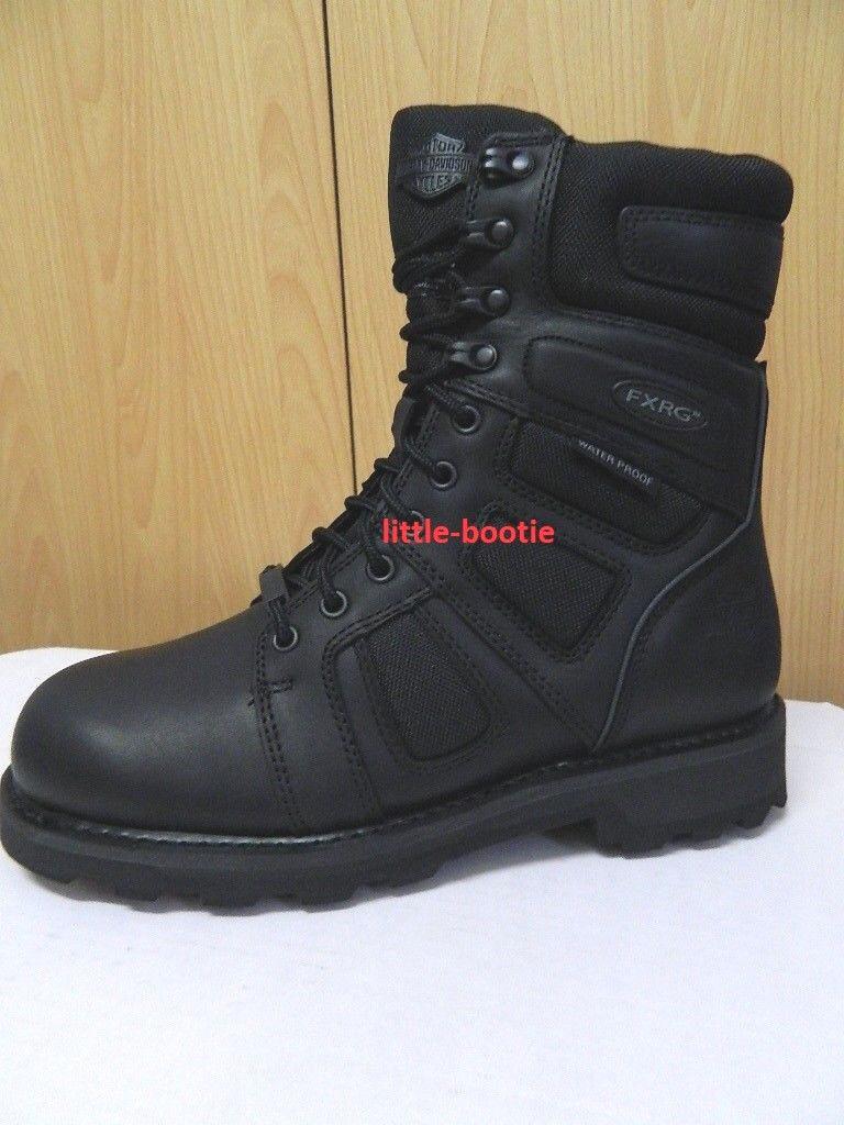 Harley-Davidson Boots Herren Leder FXRG # 97013 Welton CE wasserdicht schwarz