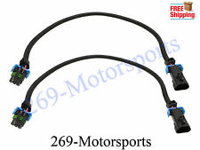 "Oxygen Sensor 24"" Extension Cable Set of Two O2 For LS3 2010-14 Camaro Front 27"""