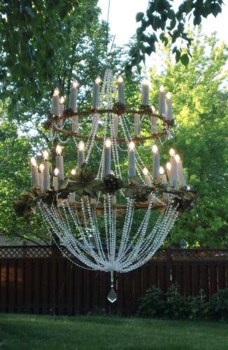 classic ready to hang wedding 4 ft chandelier w bulbs elegant ultra-light