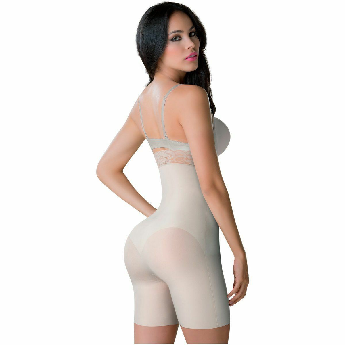 Faja Colombiana Autenthic Girdle Smartfit, Fit Control High-Waist Thigh MOLDEATE