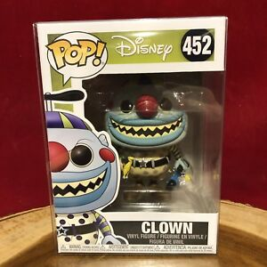 Nightmare Before Christmas-Clown Brand New in Box Funko-POP Disney