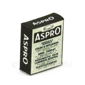 Maison de poupées miniature ASPRO Soluble Tablette Case 							 							</span>