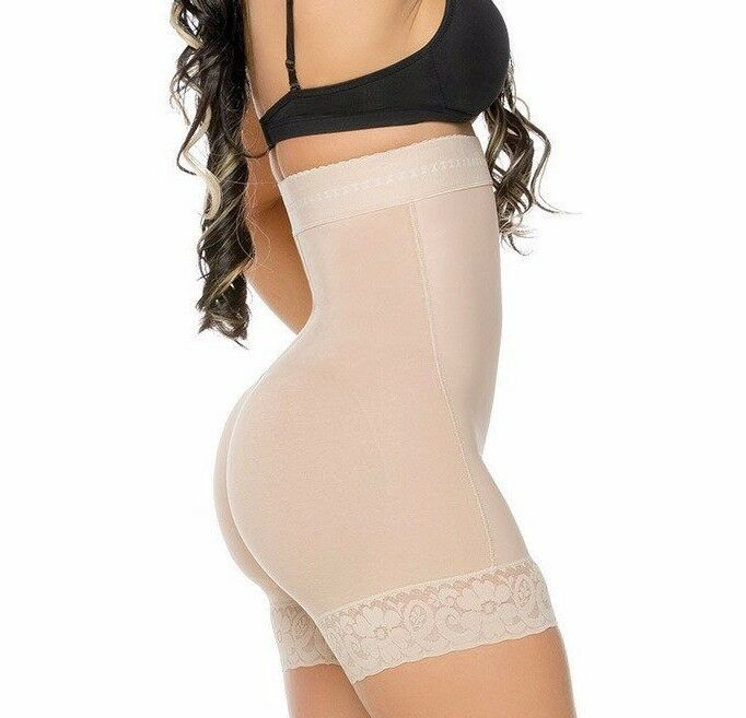Fajate colombiana levanta cola, Post Surgery High Waisted Butt Lifter Short 1014