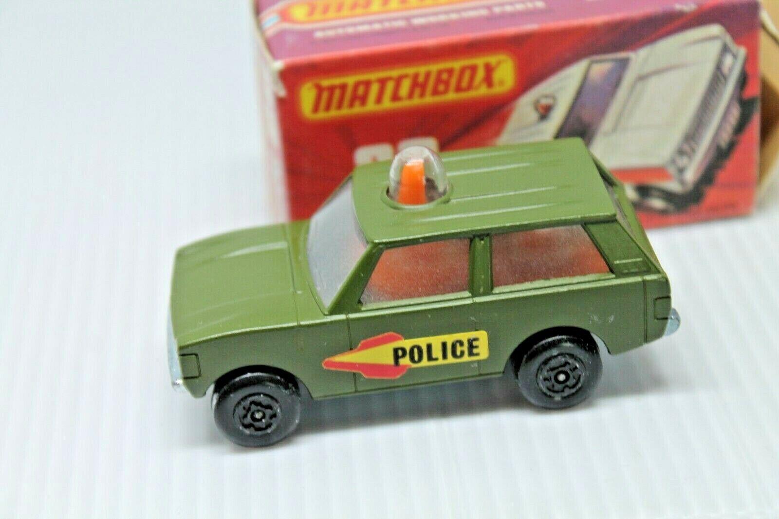 MATCHBOX ROLA-MATICS 20  POLICE PATROL  OVP  RAR