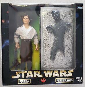 Star-Wars-Han-Solo-COMME-prisonnier-amp-Carbonite-Block-with-frozen-Han-Solo-Pack-De-Deux
