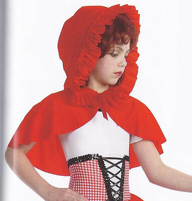 Swiss Miss Red Riding Hood Ballet Tutu Dance Costume ONLY Child XS & Adult S
