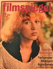 FILMSPIEGEL - MONIKA NIEMCZYK - POSTER MARIJAM AGISCHEWA - 21/1985  - FS7