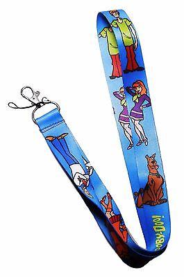 Devoto Scooby Doo & Friends Repeat Logo Id Supporto Cordino Portachiavi
