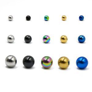 Body-Jewelry-Piercing-Replacement-Ball-Plated-Stainless-Steel-Ball-14g-16g-Screw