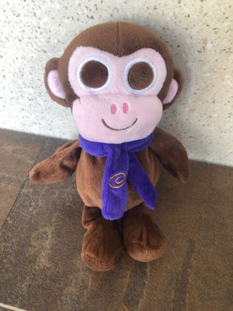 "Cadbury Purple Bunny Rabbit Teddy Bear Soft Plush Toy 8/"""
