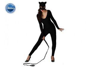 Costume-Donna-Catwoman-Maschera-M-L-40-42-Batman-Marvel-Catgirl