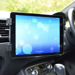 Universal-In-Car-Tablet-Holder-Mount-Air-Vent-Clip-Cradle-iPad-Air-Pro-L5NX