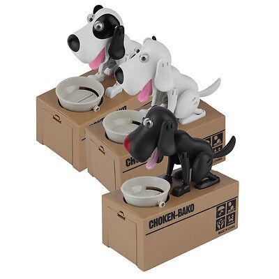 Cute Dog Model Piggy Bank Money Save Pot Coin Box Creative Gift EO