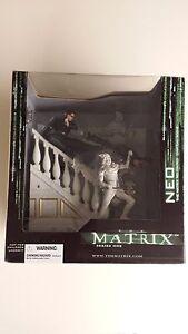 The Matrix- Neo-the Matrix Reloaded- Chateau Scene- Série1 Coffret Mib 787926177404