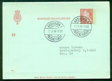 DENMARK 50ore #115 Letter card (77) used VF