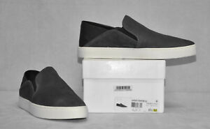C0-NIB-VINCE-Garvey-Pewter-Suede-amp-Leather-Slip-On-Sneaker-Shoes-Size-8-5-M-225