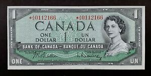 1954-BANK-OF-CANADA-1-Beattie-amp-Rasminsky-Replacement-Note-A-A-BC-37bA