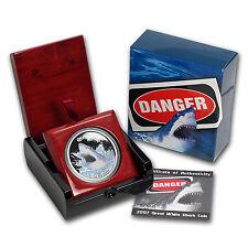 2007 Australia 1 oz Silver Great White Shark Proof - SKU #25996