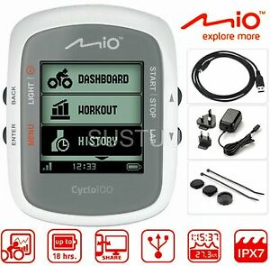 Mio Cyclo 100 Cycle GPS Computer MTB Bike Performance Partner Navigation System | eBay