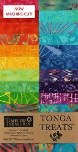 Timeless-Treasures-Zing-Tonga-Treats-Jr-Jelly-Roll-20-Batik-2-5-034-Strips