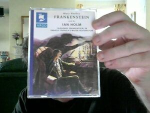 FRANKENSTEIN-2-TAPES-MARY-SHELLEY-IDEAL-CHRISTMAS-GIFT-FREE-UK-POST