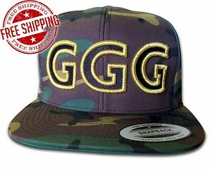 Image is loading GGG-Classic-Snapback-or-Trucker-Cap-Hat-Gennady- 37644754debe