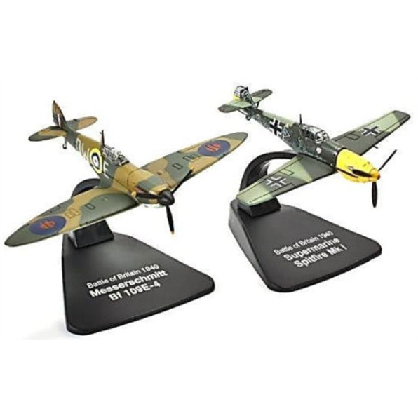 Atlas   Oxford 1 72 Fighters Luftwaffe Messerschmitt Bf109 E   Raf Spitfire Mk1
