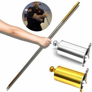 Portable-Martial-Arts-Metal-Magic-Pocket-Bo-Staff-110cm-150cm-Pocket-bara