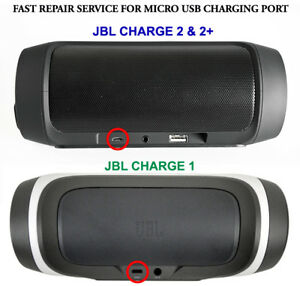 Details about JBL CHARGE 1 2 2+ BLUETOOTH SPEAKER REPAIR SERVICE FOR MICRO  USB CHARGING PORT