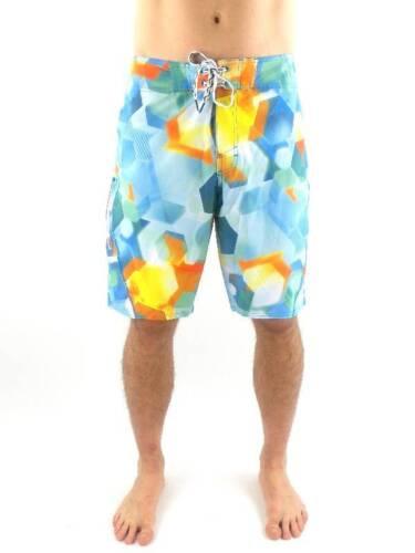 O/'Neill Boardshort Badehose Flares Epicfreak grün blau gelb elastisch