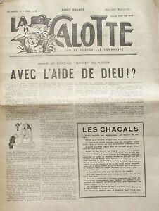 La Calotte N°3 -1955 - Les Moines Parasites De La Société - Moeurs Des Couvents 2aazbxa1-07163831-112251950