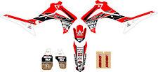 2013 - 2016  HONDA CRF 450 MUSCLE MILK Dirt Bike Graphics Kit Motocross Decals