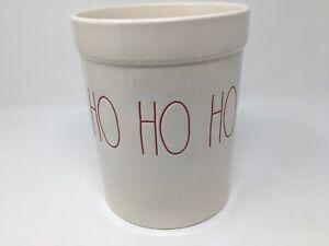 New-Rae-Dunn-Artisan-HO-HO-HO-Christmas-Utensil-Crock-Holder-New