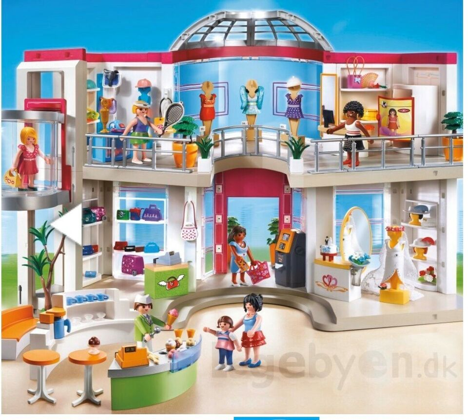 Playmobil, Playmobil shoppingcenter