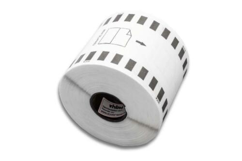 ENDLOS vhbw ETIKETTEN 62mm x 30.48m WASSERFEST für BROTHER P-touch QL-500 A
