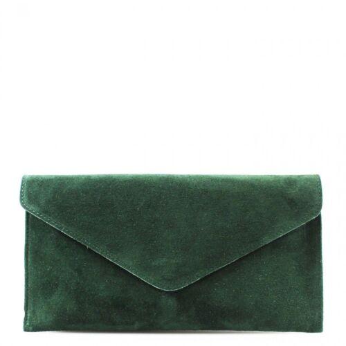Ladies Real Leather Envelope Clutch Evening Bag Women Party Crossbody HandBags
