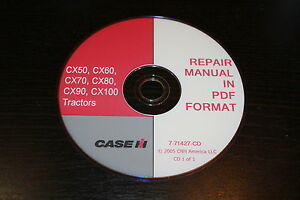 Case Ih Cx50 Cx60 Cx70 Cx80 Cx90 Cx100 Tractor Service Manual Ebay. Is Loading Caseihcx50cx60cx70cx80cx90cx100. Wiring. Case Ih Cx70 Wiring Schematic At Scoala.co